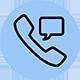 konfirmasi telepon atau chat